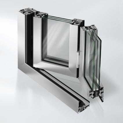 Alu-Fenster Ausschnitt/Beispiel von Ottis Fenster und Türen