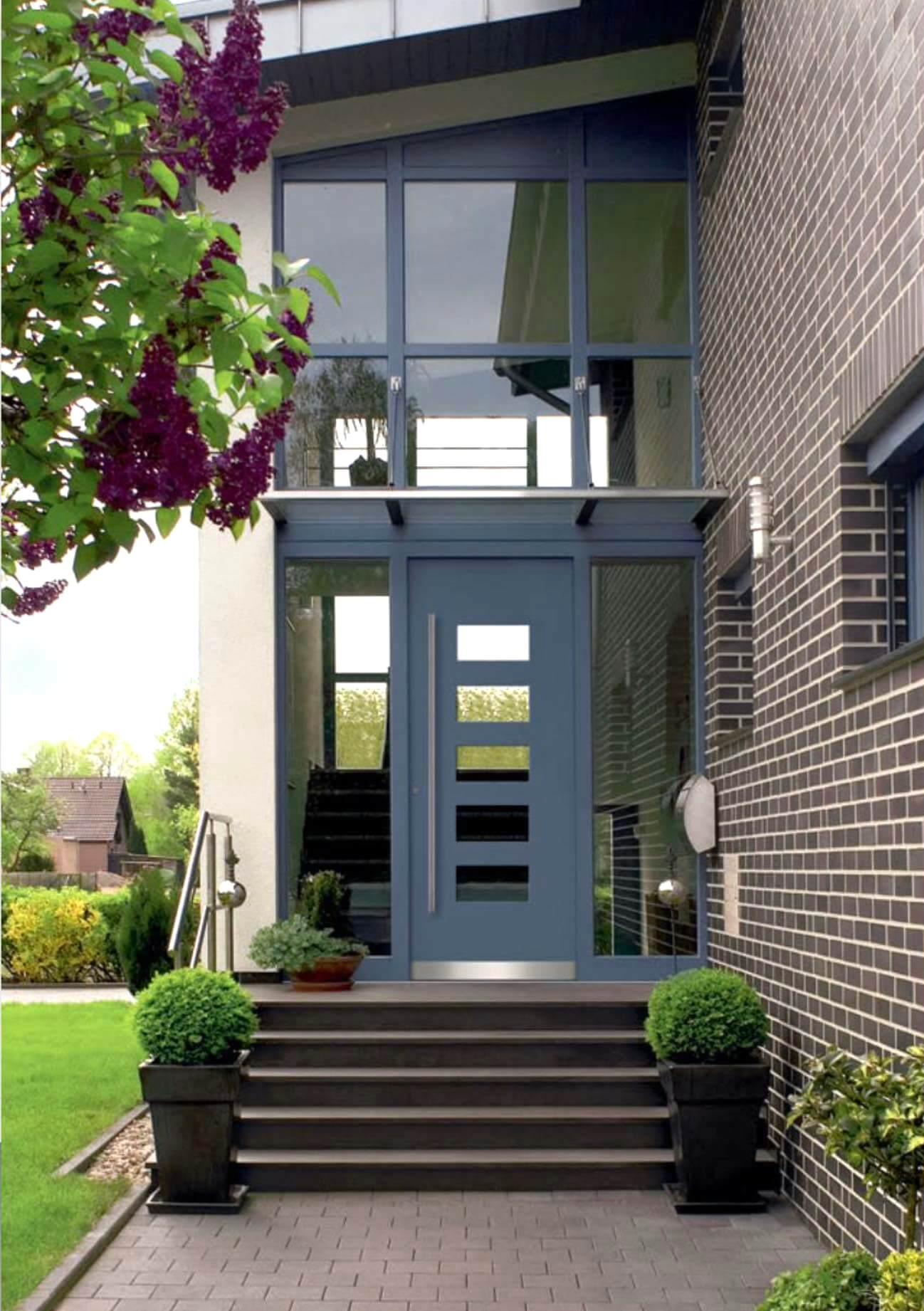 Aluminium Haustür der Marke Schüco von Ottis Fenster und Türen
