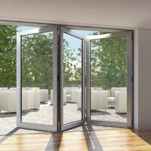 Falt-Terrassentür Aluminiumhaustür von Ottis Fenster und Türen