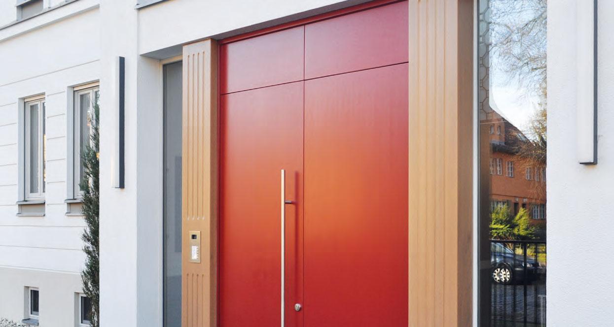 Holz-Alu Haustür vom Hersteller Köhler Fenster- und Türenbau von Ottis Fenster und Türen