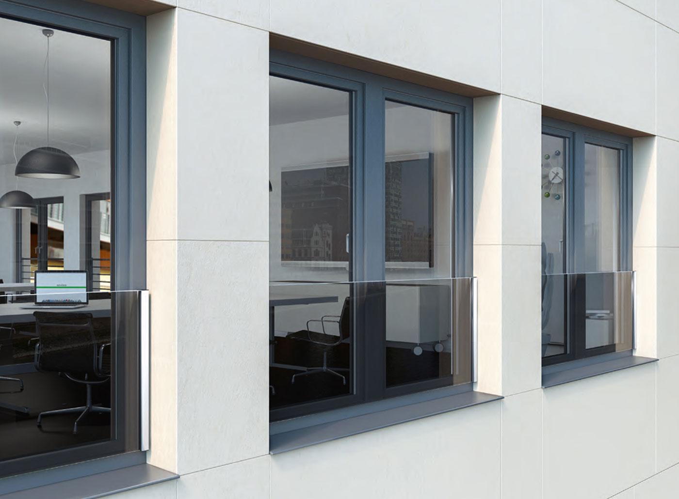 Kunststofffenster mit Absturzsicherung von Ottis Fenster und Türen