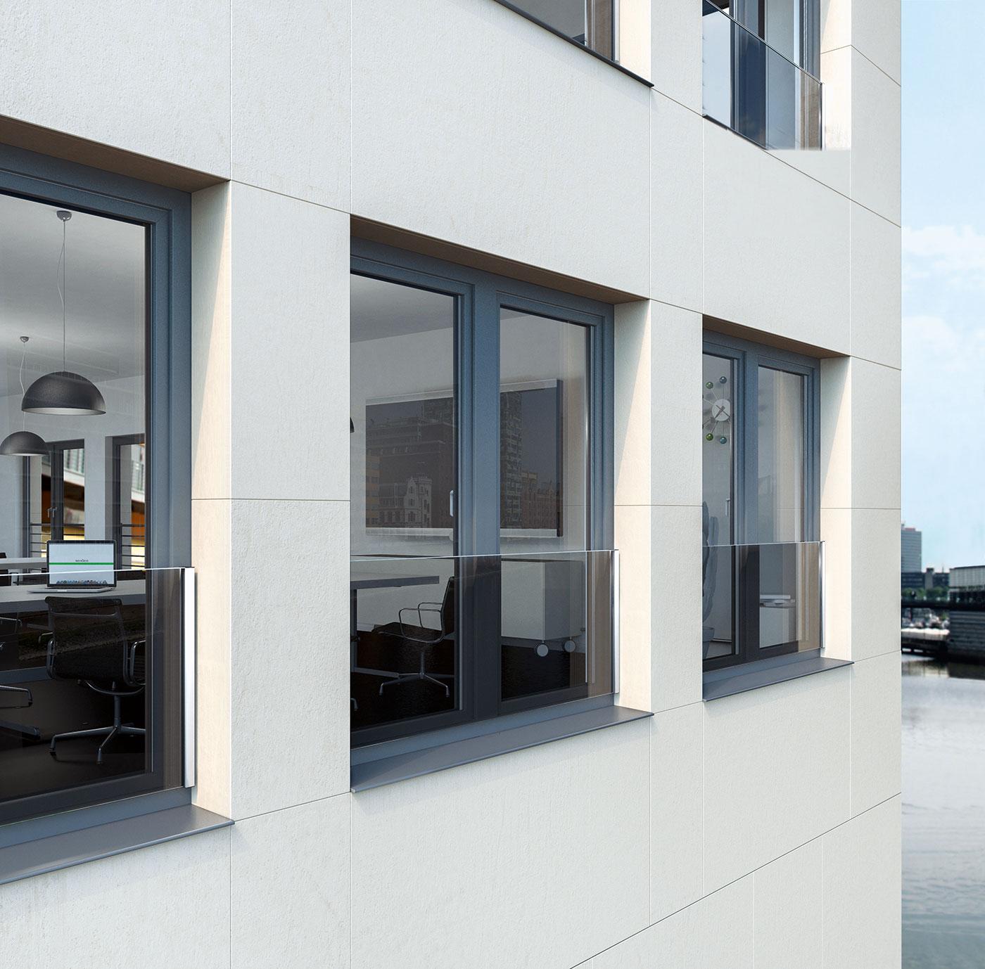Fenster aus Kunststoff mit Absturzsicherung von Ottis Türen und Fenster