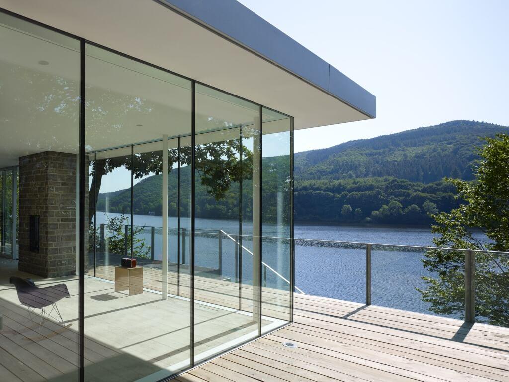 Ganzglasecken der Marke HeKa von Ottis Fenster und Türen