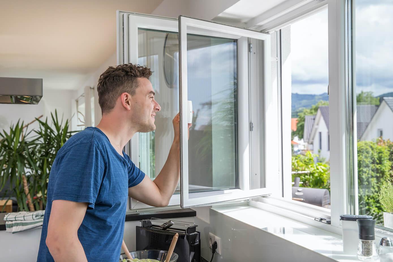 Fenster mit Insektenschutz von Ottis Türen und Fenster
