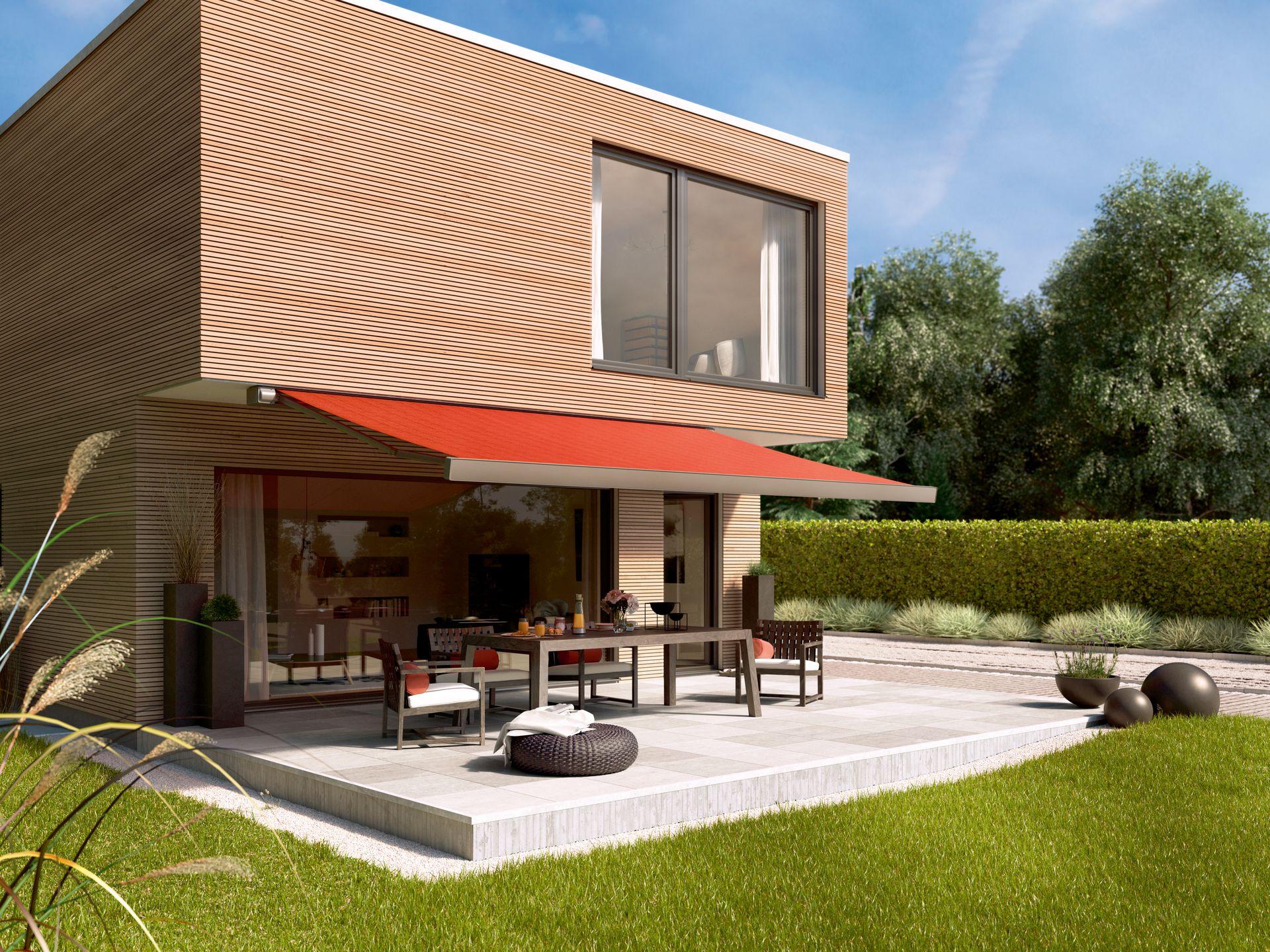 Terrassen-Markise der Marke Markilux von Ottis Fenster und Türen