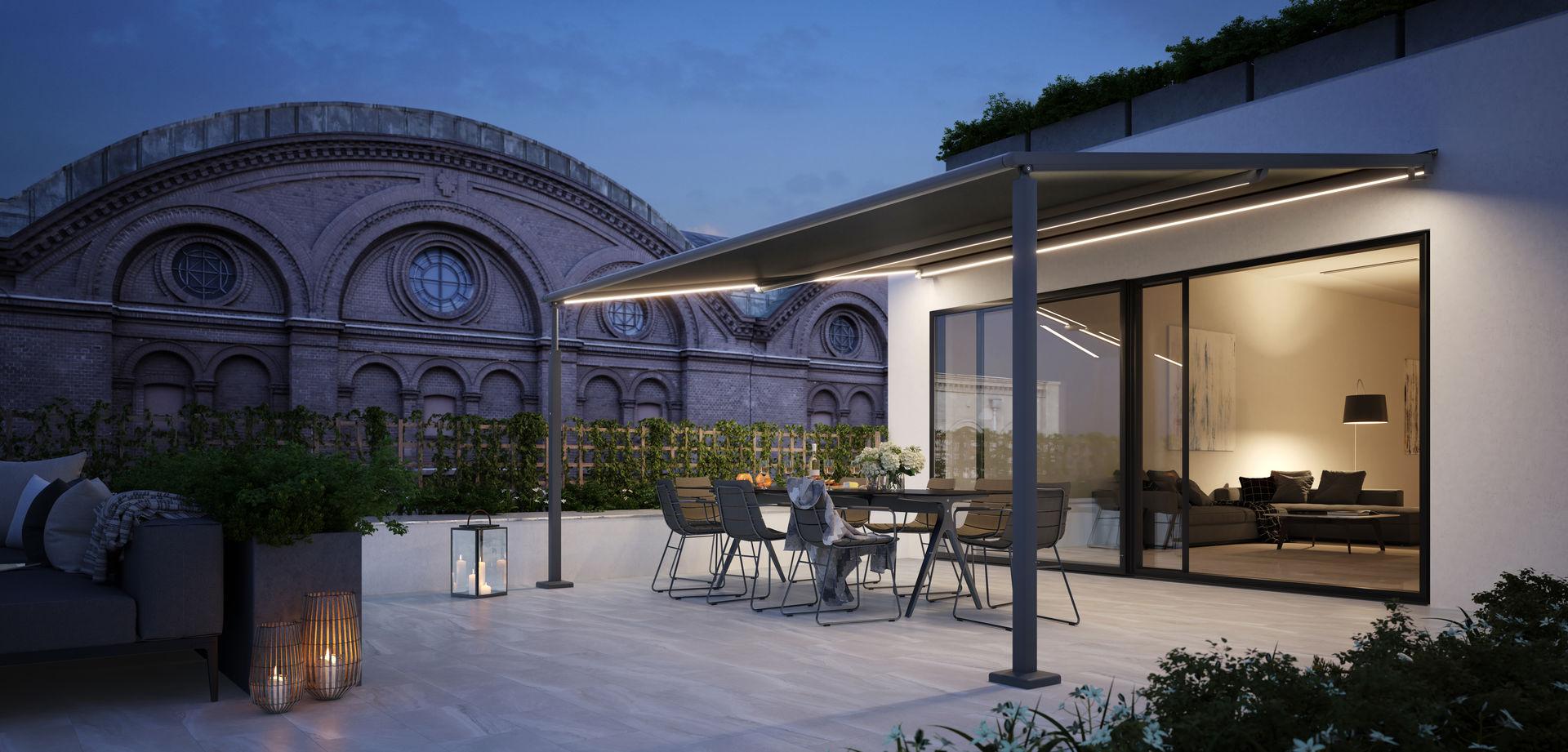 Wintergarten-Markise der Marke Markilux-Design