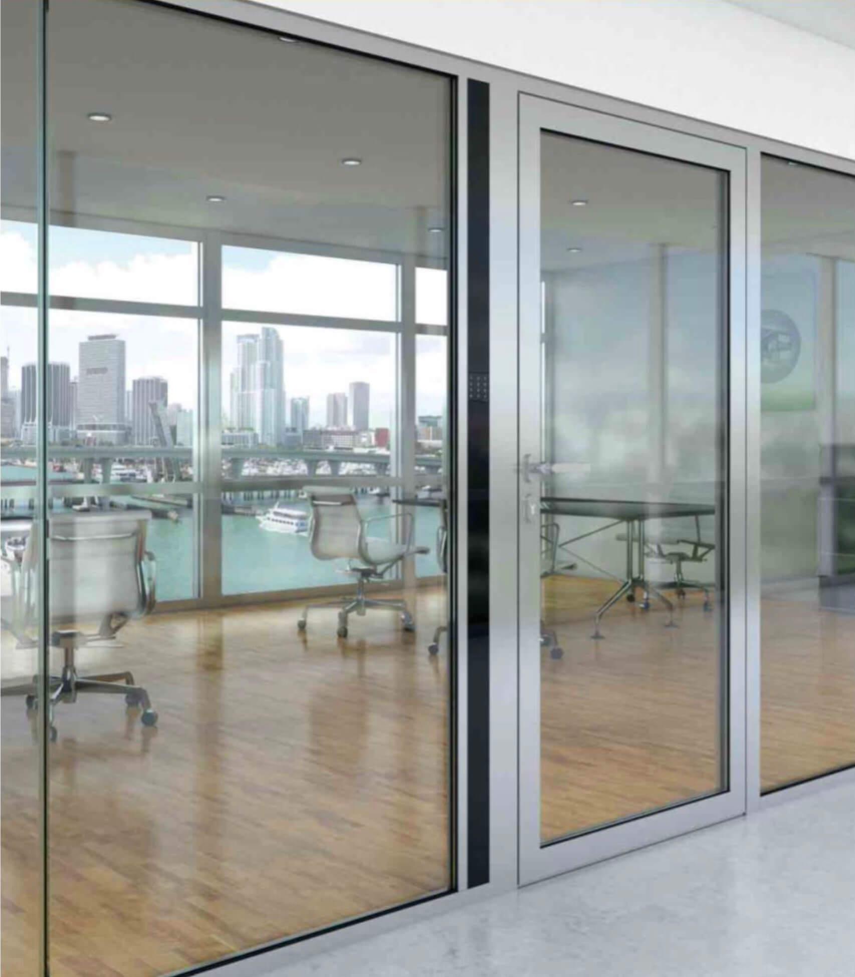 Aluminium-Hebeschiebetür der Marke Panz von Ottis Fenster und Türen