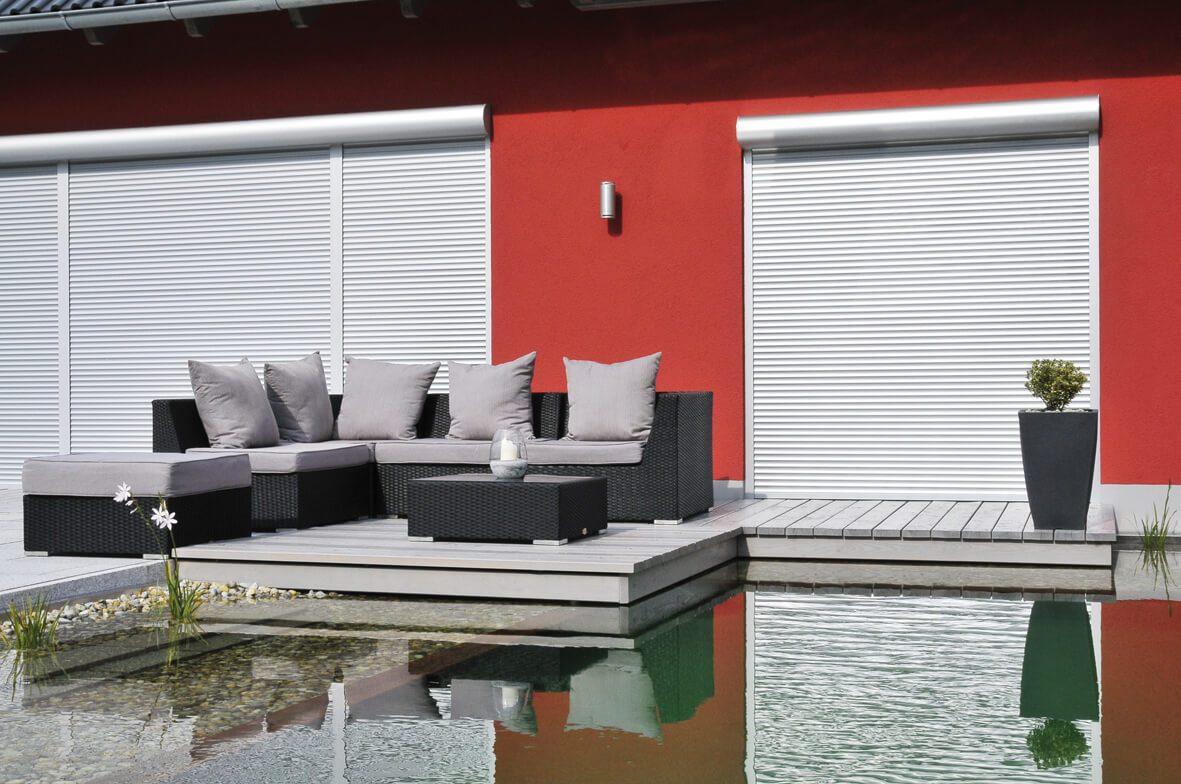 Vorbau-Rolladen der Marke Growe/Roltex von Ottis Fenster und Türen